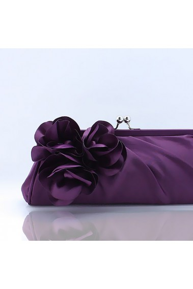Womens evening clutch bag with Flowers - SAC270 #1