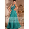 Long evening dress Aroma with backless and strass - Ref L077 - 04