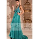 Long evening dress Aroma with backless and strass - Ref L077 - 05