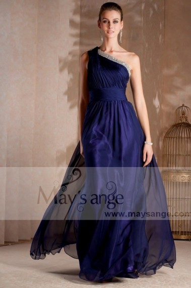 Blue evening dress - Formal evening dresses Egyptian - L244 #1