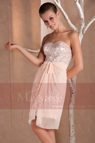 Pink evening dress - Cocktail dresses C238 - C238 #1
