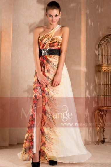 Evening Dress with straps - Evening gown  Maya - L159 #1