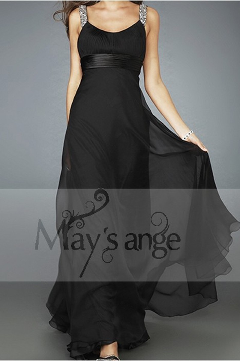 Black Glorious evening dress for your prom night - Ref L054Promo - 01