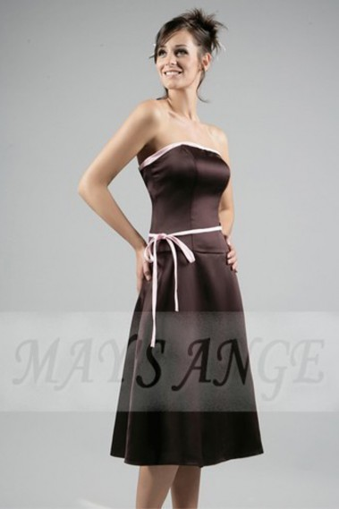 Cheap short dresses - Dress fine ceinture - C039 #1