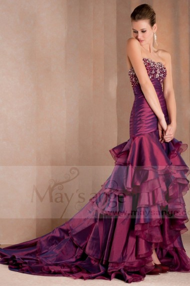 Evening dress for prom Jacinthe L170 - L170 Promo #1