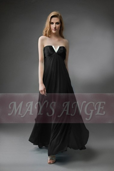 Long and black evening dress Orient - L115 Promo #1