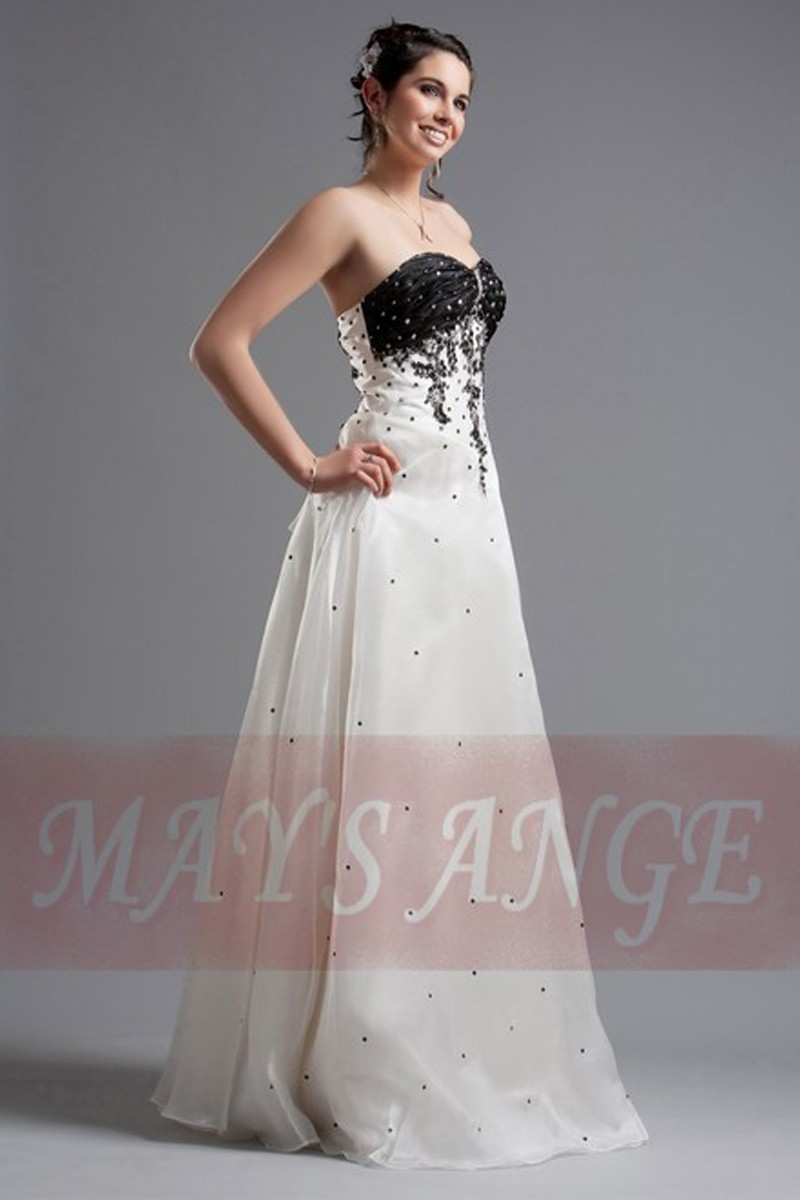 Affordable wedding dresses Black and White