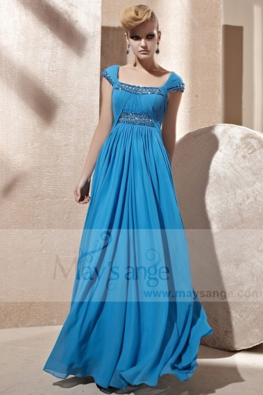 Blue sky cocktail dress PR064 - PR064 #1