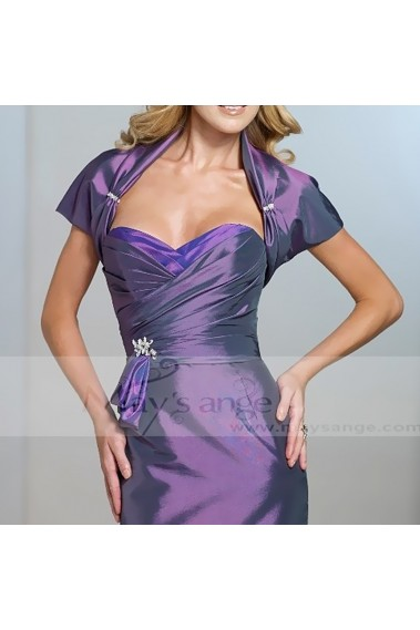 Pretty purple shrugs for evening gowns - BOL033 #1