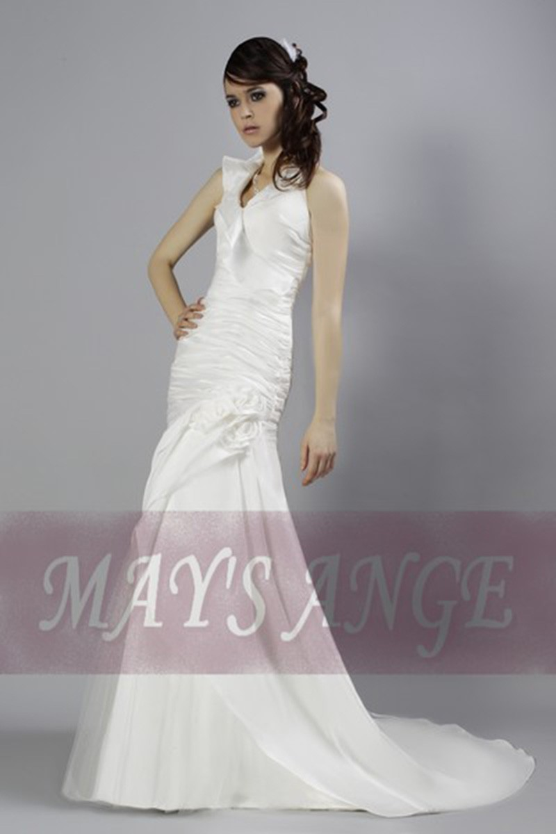 8dbaa6c46 Online wedding dress Sweet mermaid style and short train - Ref M011 - 01
