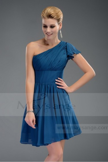 SALE female short sleeve blue dresses with C485 - C485 Promo #1