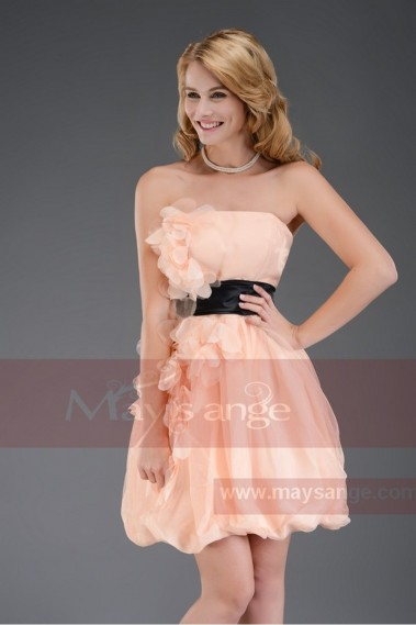 Pink bridesmaid dress - Cocktail Dress C539  pink for mariage - C539 #1