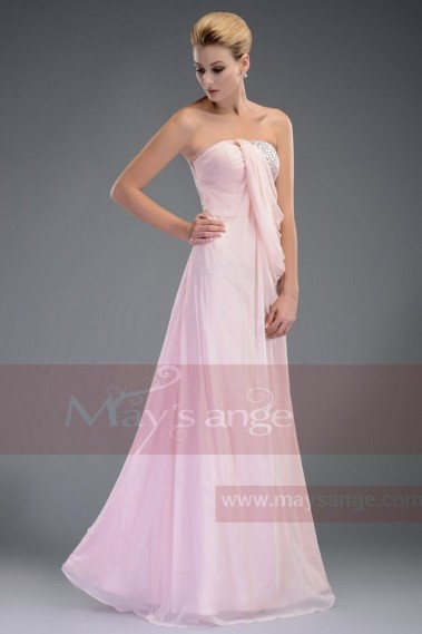 Strapless Evening Dress - Robe de soirée L510 - L510 #1
