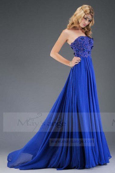 Long prom dress Spartan Woman in muslin - L079 #1