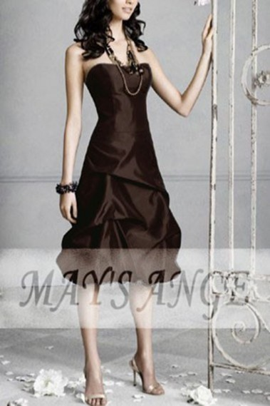 Dress marron intense - C068 #1