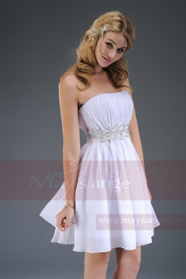 Short evening dress sparkling Laurel C477 - C477 #1