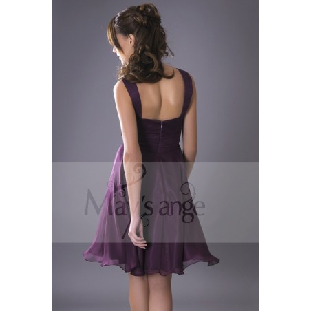 Robe de cocktail Passiflore - Ref C080 - 03