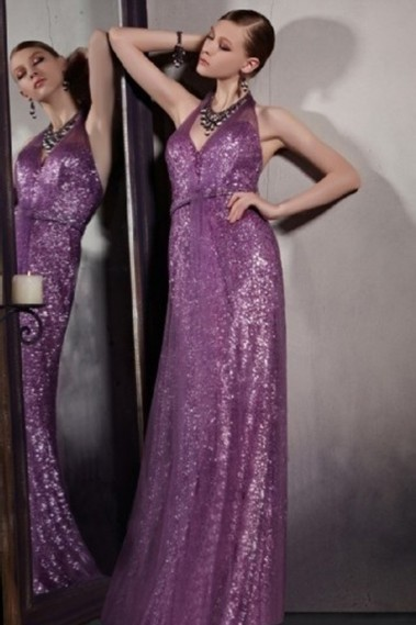 Straight evening dress - Robe de soirée PR081 - PR081 #1