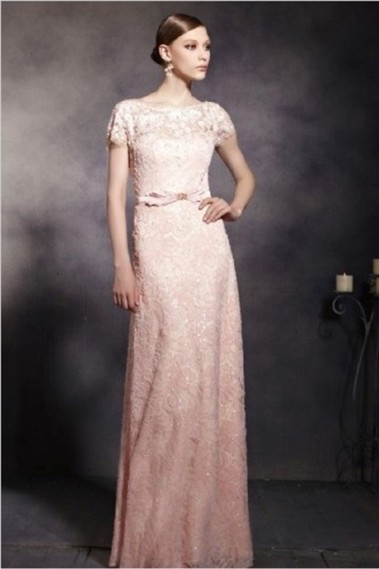 Pink evening dress - Robe de soirée PR103 - PR103 #1
