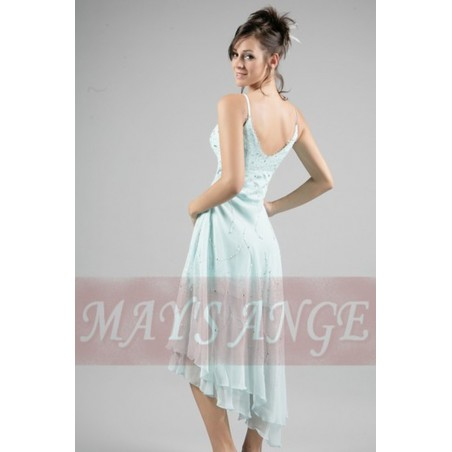 Robe de cocktail Passion froide - Ref C082 - 02