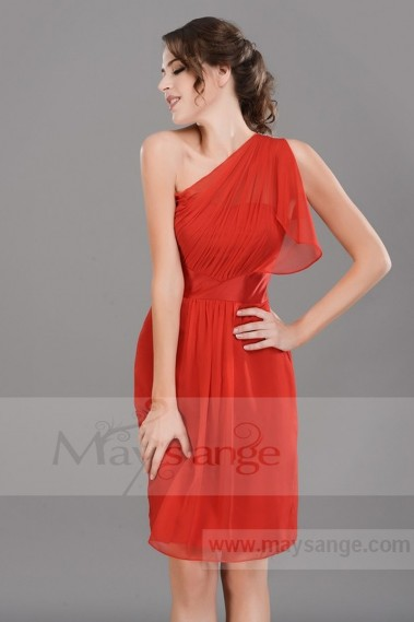 Red Evening Dress SHAKESPEARE C563 - C563 #1