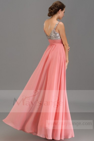 Pink evening dress - Prom and evening dresses Courtney - L207 #1