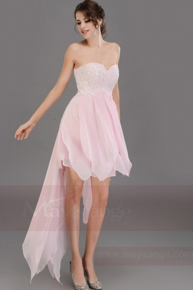 Light Pink Dress for your cocktail C243 - C243 #1