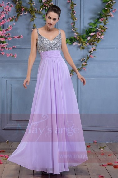 Long bridesmaid dress - L668 - L668 #1