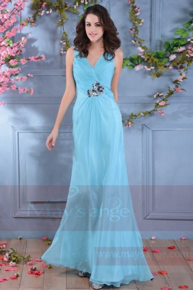 Long bridesmaid dress - L681 - L681 #1