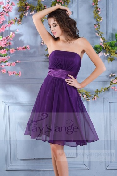 Short evening dress - C713 - C713 #1