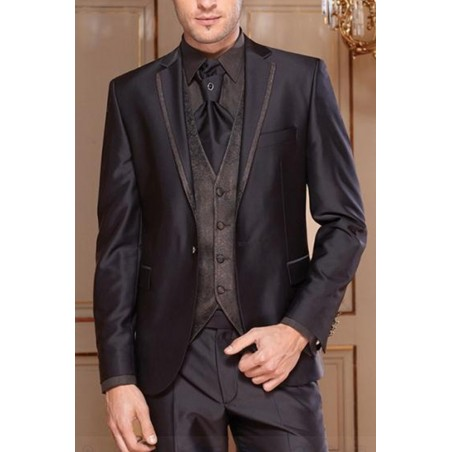 Costume MEN037 gris foncé - Ref MEN037 - 02