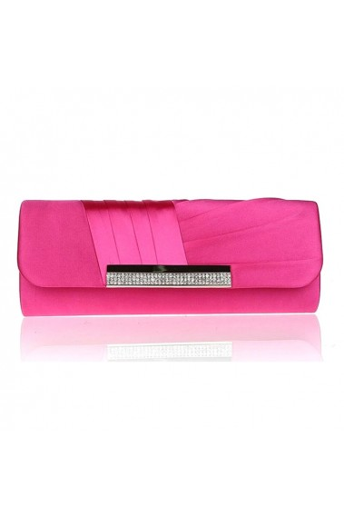 Stylish cheap fuschia pink clutch bag - SAC284 #1