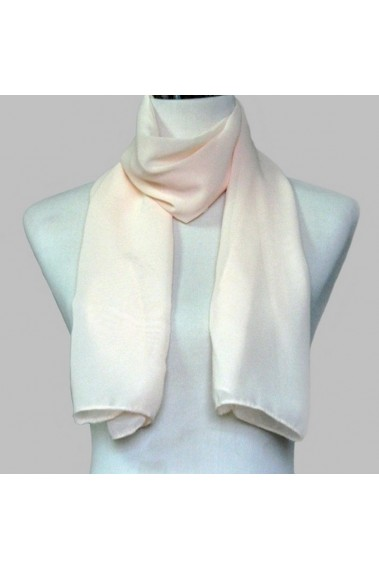 Cheap chiffon pink large evening scarf - ETOLE09 #1