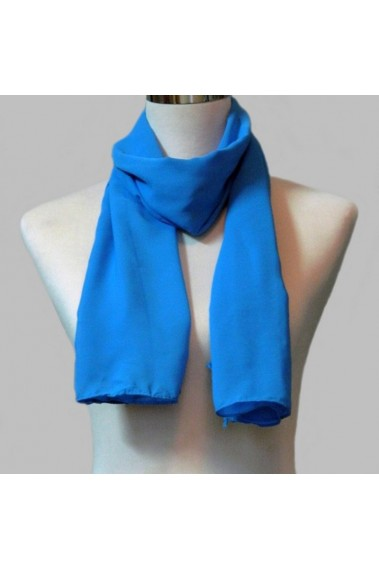 Affordable blue scarf for evening gown - ETOLE16 #1