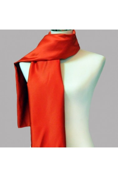 Beautiful fire red evening dress scarf - ETOLE19 #1