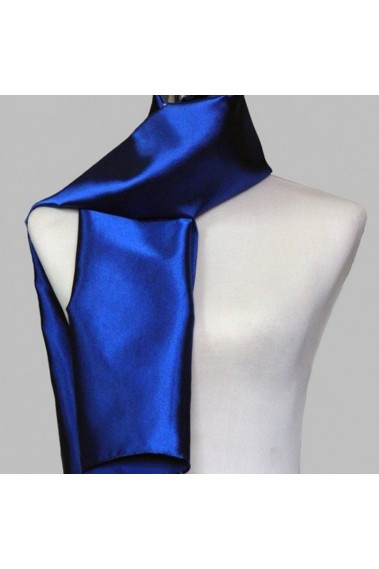 Gemstone Blue Satin Shawl - ETOLE26 #1