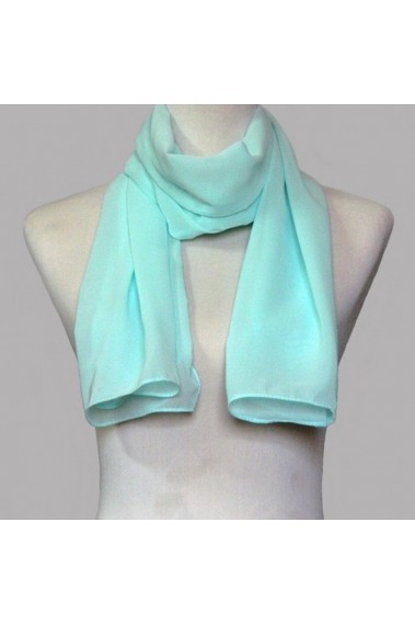 Fashion mint green evening dress scarf - ETOLE32 #1