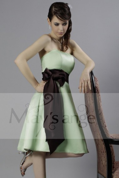 Long bridesmaid dress - Cocktail dress - Pomme passion - C091 #1