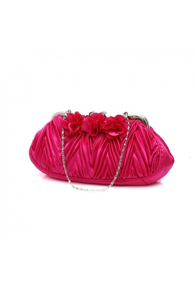 Beautiful fuschia small evening bags - SAC384 #1