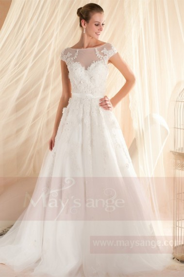 Formal dress for wedding - Bridal gown M345 - M345 #1
