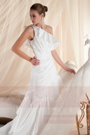 Long wedding dress - Bridal gown M357 - M357 #1