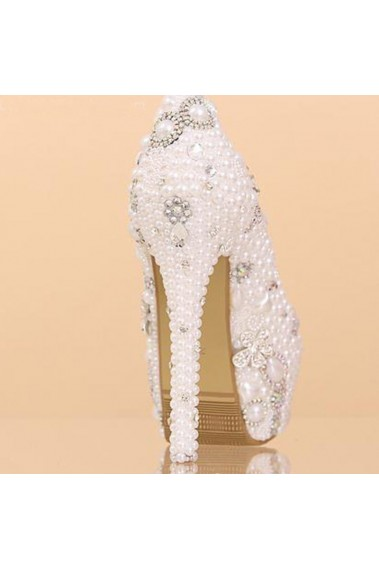 White Wedding shoes CH058 - CH058 #1