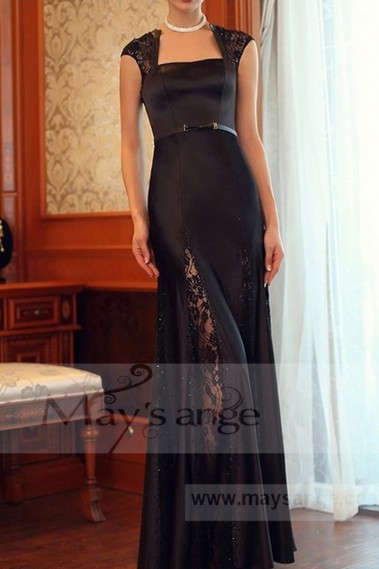 Black evening dress - L701 - L701 #1