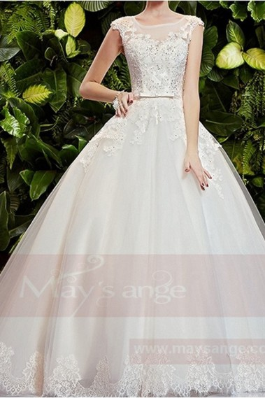 White wedding dress - Bridal gown M360 - M360 #1