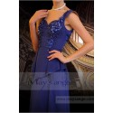 Classic Dress For A Wedding Witness Gemstone Blue - Ref L708 - 04