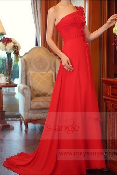 Red evening dress - L713 - L713 #1