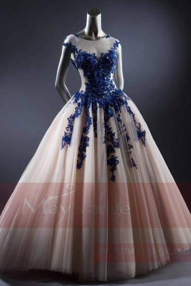 Princess Evening Dress - P074 - P074 #1