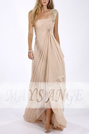 Pink evening dress - Pregnancy Long Evening Dresses - Maternity Long Evening Dress - L150 #1