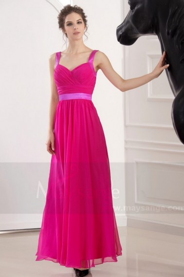Evening Dress with straps - L753 - L753 #1
