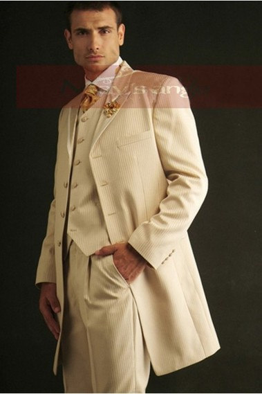Cream Suit - MEN008 #1